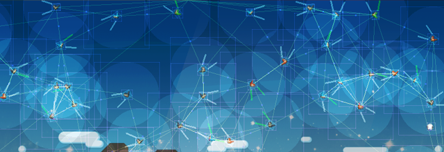 Picture showing AI Birds Nodes